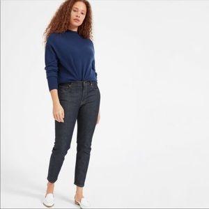 Everlane Dark Wash Ankle Jeans